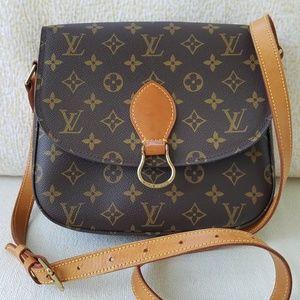 Louis Vuitton Bags - Louis Vuitton Saint Cloud Crossbody Bag Monogram